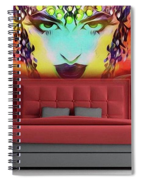 Lady Substitut Spiral Notebook