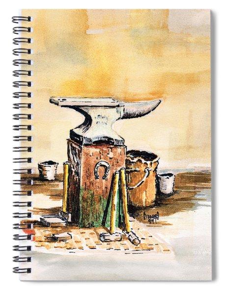 Lee's Anvil Spiral Notebook