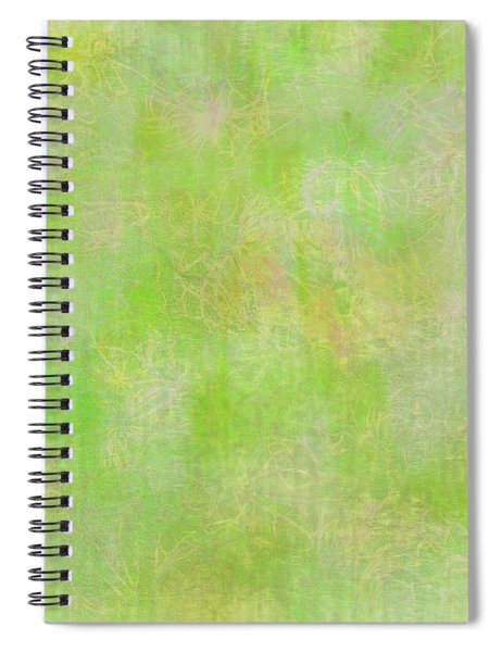 Lime Batik Print Spiral Notebook