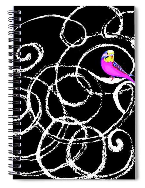 Logic Spiral Notebook