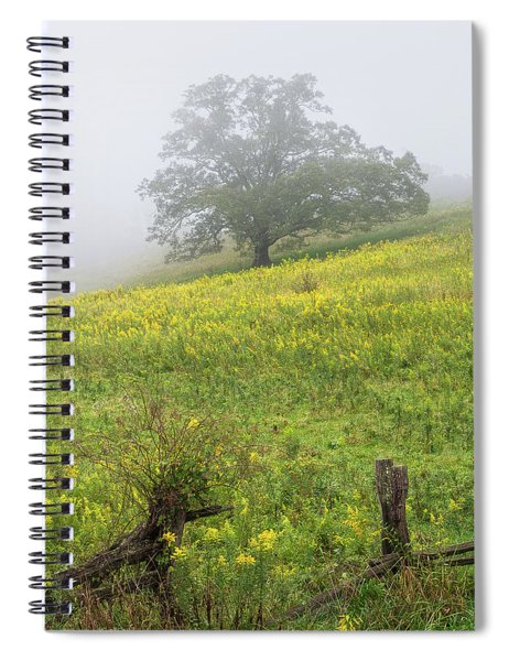Lone Tree Hill - Blue Ridge Parkway Spiral Notebook
