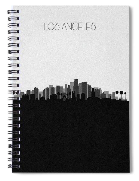 Los Angeles Cityscape Art V2 Spiral Notebook