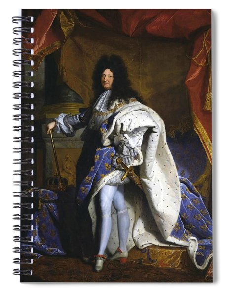 Louis Xiv  King Of France  Spiral Notebook