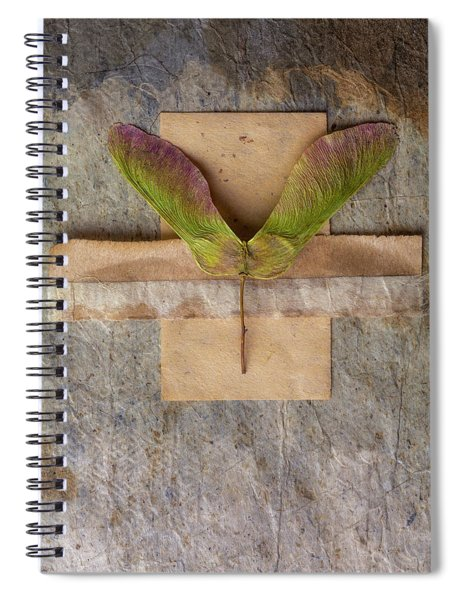 Maple Tree Seed Pod Spiral Notebook
