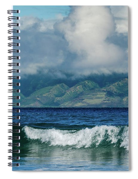 Maui Breakers Spiral Notebook