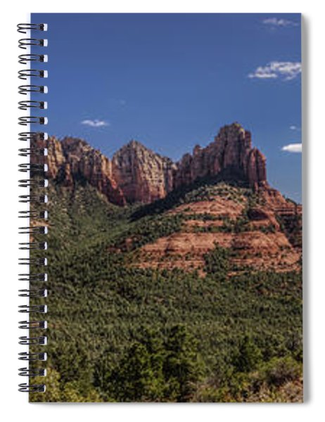 Mormon Canyon Panorama Spiral Notebook