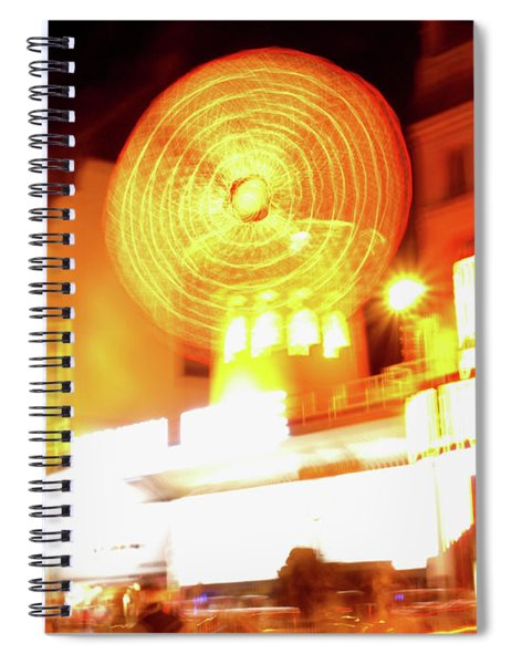 Moulin Rouge Spiral Notebook by Edward Lee