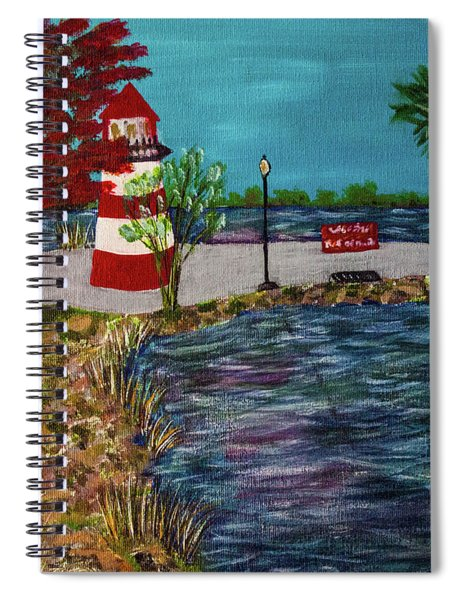Mount Dora Lighthouse Spiral Notebook