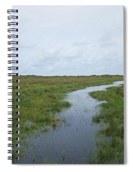 Near De Muy On Texel Spiral Notebook