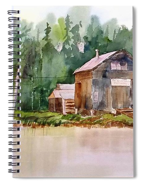 New England Boat Repair Spiral Notebook