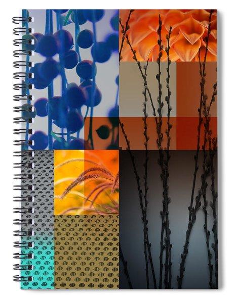 Nocturne II Spiral Notebook