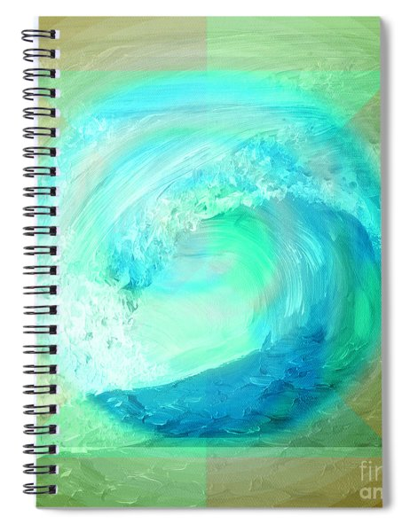 Ocean Earth Spiral Notebook