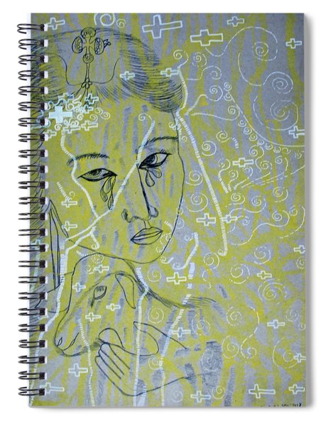 Our Lady Of Asia Mary Mother Of Jesus Christ Divine Shepherdess Spiral Notebook