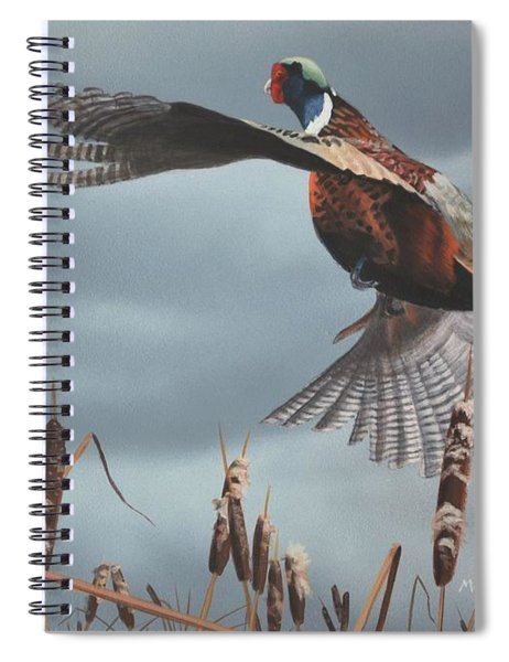 Out Of The Cattails Spiral Notebook