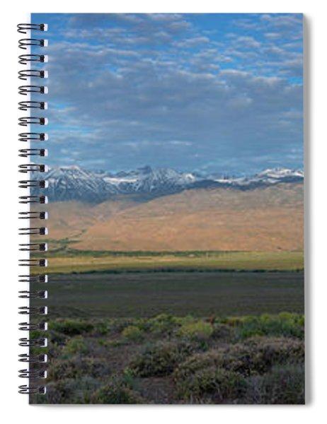 Owens Valley Panorama  Spiral Notebook