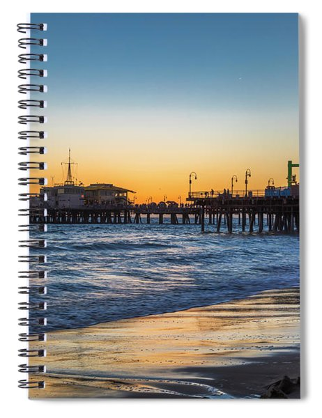 Pacific Park On The Pier Spiral Notebook