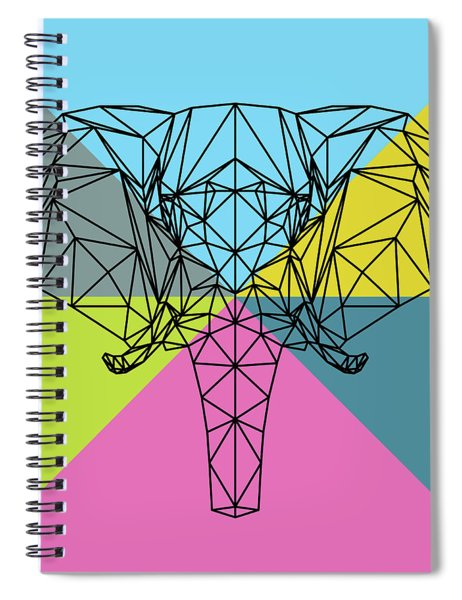 Party Elephant Spiral Notebook