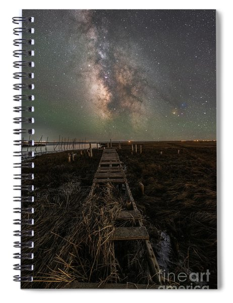 Path To The Stars  Spiral Notebook