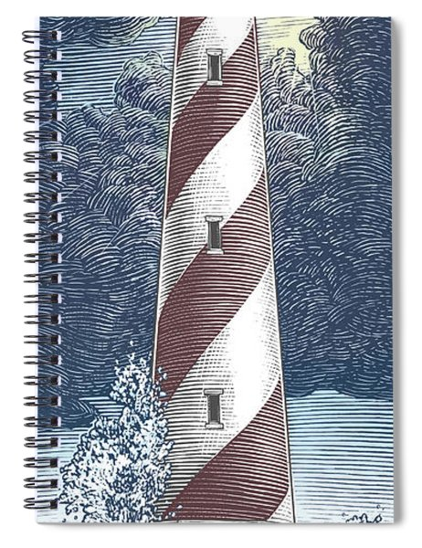 Peace In The Storm Spiral Notebook