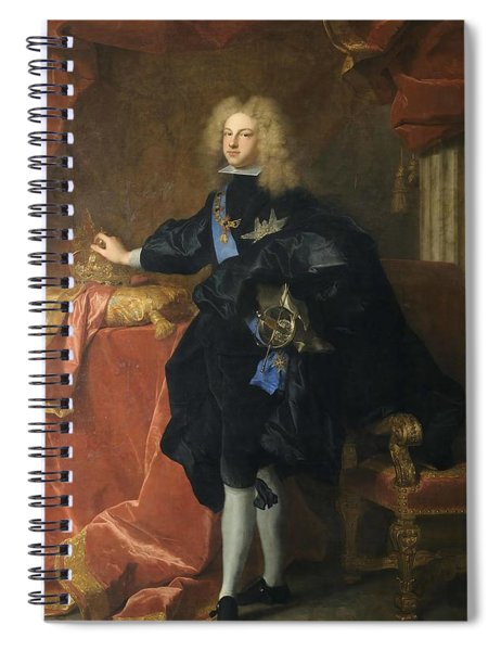 Philip V  King Of Spain  Spiral Notebook