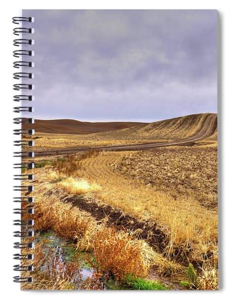 Plowed Under Spiral Notebook