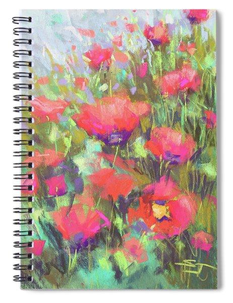 Praising Poppies Spiral Notebook