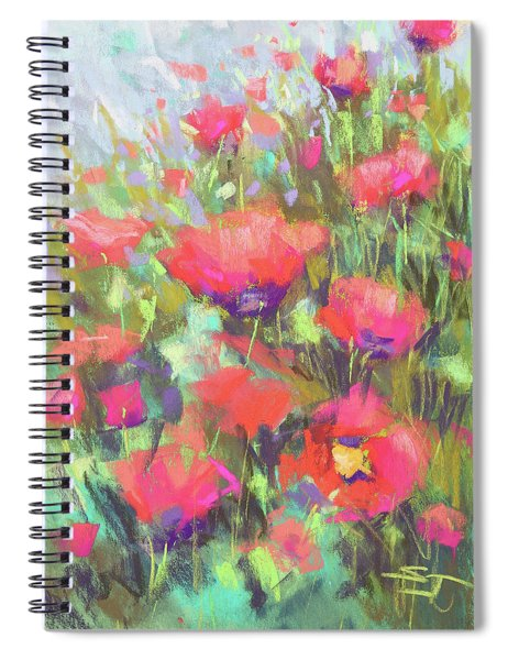 Praising Poppies Spiral Notebook