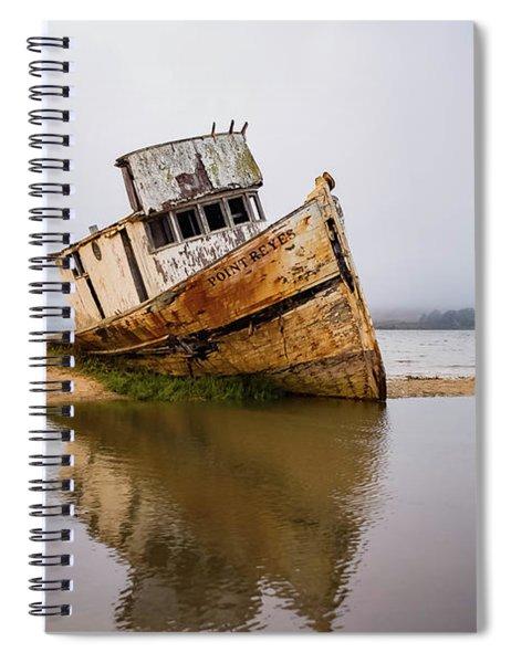 Pt Reyes Wreck Spiral Notebook