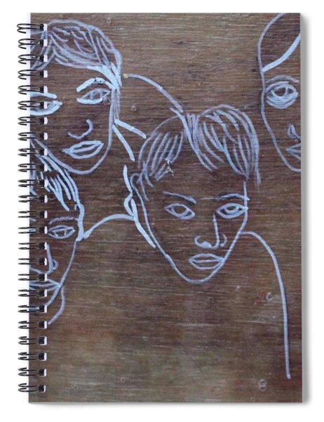 Radiohead Spiral Notebook