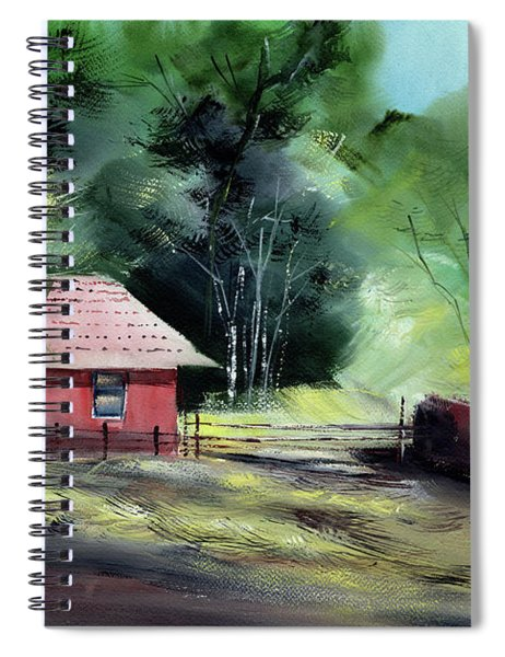 Red House R Spiral Notebook