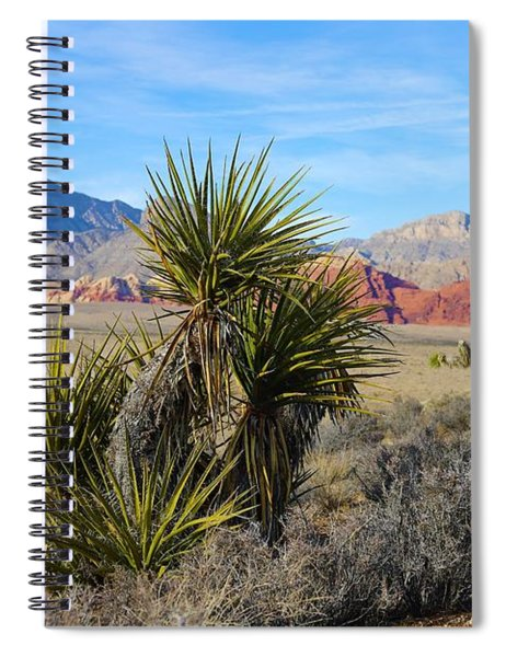Red Rock Canyon National Conservation Area Spiral Notebook