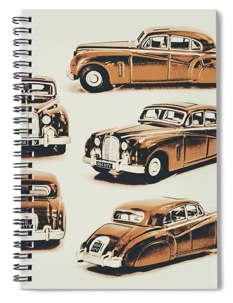 Retro Rides Spiral Notebook