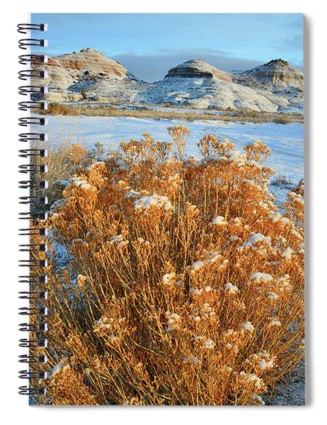 Ruby Mountain Rabbit Brush Spiral Notebook