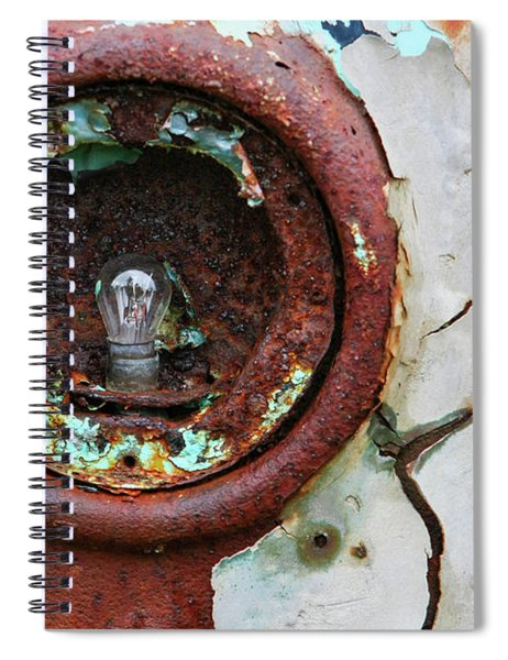 Rusty And Crusty Spiral Notebook