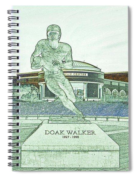 S M U Legend Doak Walker Spiral Notebook