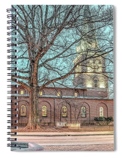Saint Annes Circle With Fountain Spiral Notebook