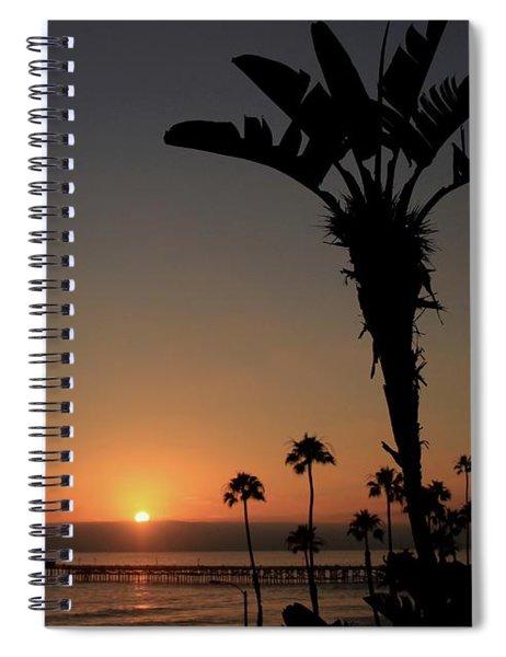 San Clemente Sunset Spiral Notebook