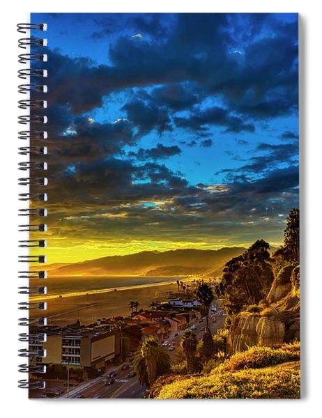 Santa Monica Bay Sunset - 10.1.18 # 1 Spiral Notebook