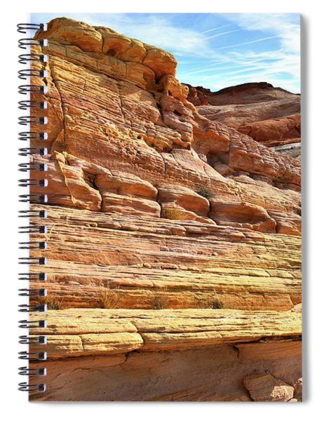 Ship Of Sandstone In Valley Of Fire Spiral Notebook
