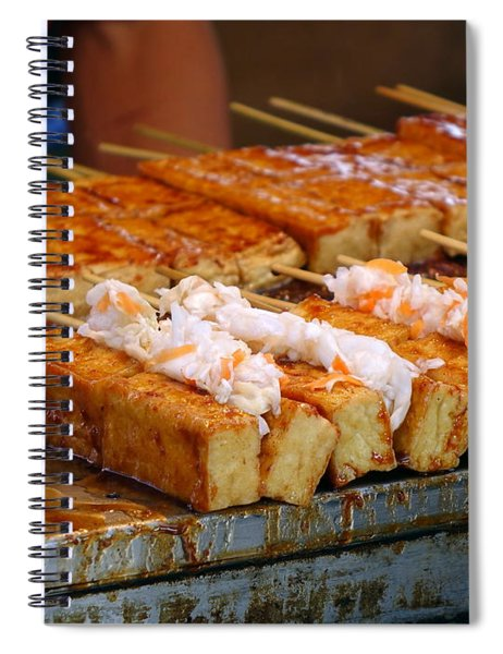 Smelly Fermented Tofu With Pickled Cabbage Spiral Notebook