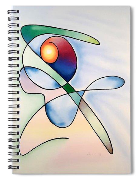 Space Pirate Spiral Notebook