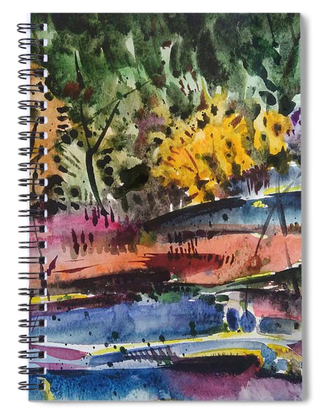 Spring Impression Spiral Notebook