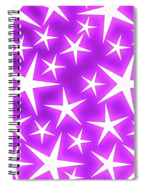 Star Burst 2 Spiral Notebook