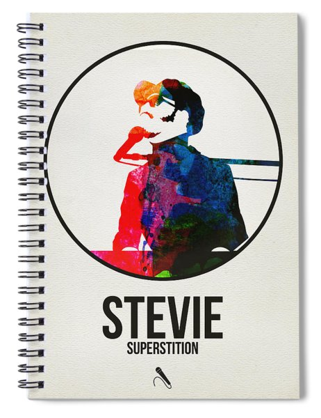 Stevie Wonder Spiral Notebook