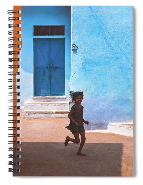 Streetcorner Spiral Notebook