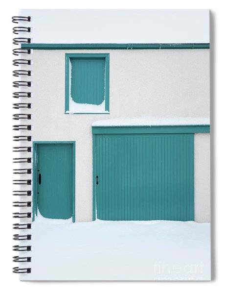 Teal Spiral Notebook by Tim Gainey