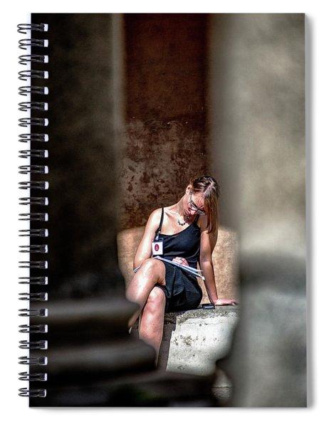 Tempietto Da Bramante Spiral Notebook