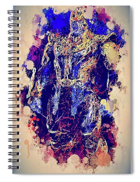 Thanos Watercolor Spiral Notebook