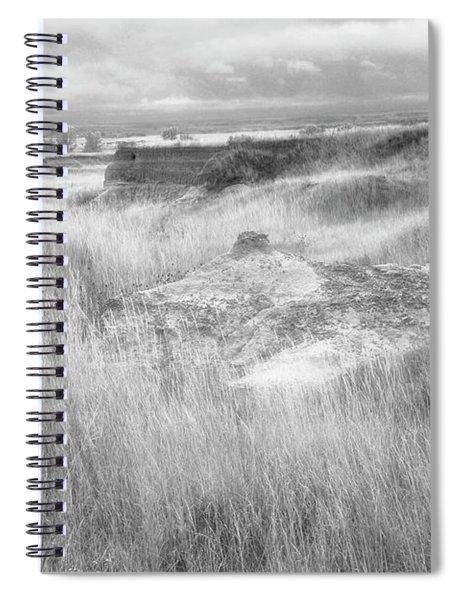 The Badlands South Dakota Spiral Notebook