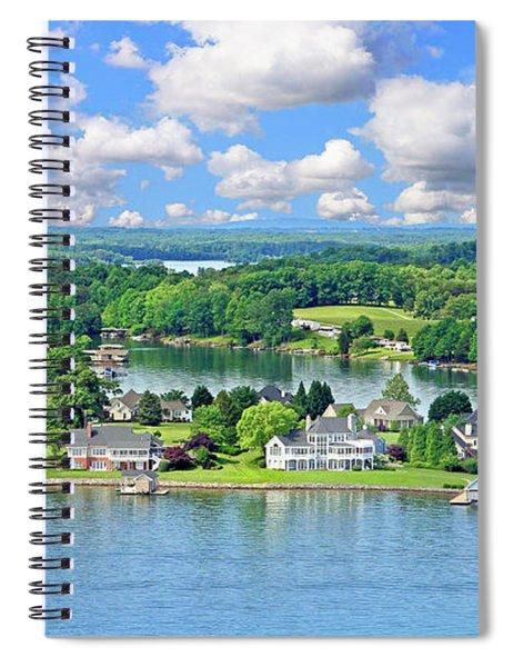 The Boardwalk, Smith Mountain Lake, Va. Spiral Notebook